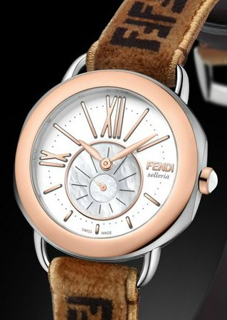 Fendi Timepieces Presents the New Selleria Collection > Covet Editions > The ultimat collector's luxury and design magazine > #fendi #fenditimepieces #Coveteditions