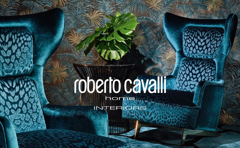 Roberto Cavalli Home Interiors' Naturalistic and Chromatic Collection 1