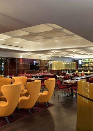 "Meet ""Le Drugstore"" Brasserie in Paris Designed by Tom Dixon Studio"