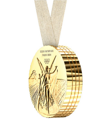 Philippe Starck Presents The Design of The 2024 Olympic Medals