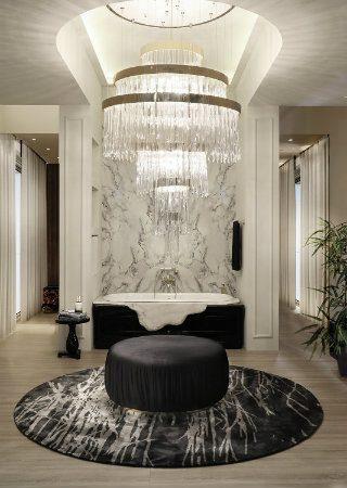 The Most Luxurious Bathroom Novelties of 2017. To see more news about incredible bathrooms, subscribe our newsletter right now! #mostluxuriousbathroom #luxurybathrooms #maisonvalentina #stoneforest #villeroyandboch #luxurybrands #luxuryhomedecor #bestinteriordesign