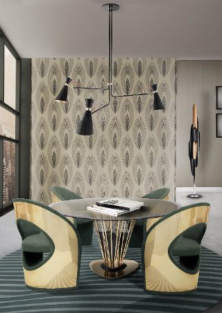 Trending Product - A Mid-Century Chandelier With a Powerful Statement. To see more news about lighting, subscribe our newsletter right now! #mid-centurychandelier #delightfull #ninasimone #luxurybrands #luxurylighting #mid-centurydecoratingideas #livingroomdecor #lightingsolutions
