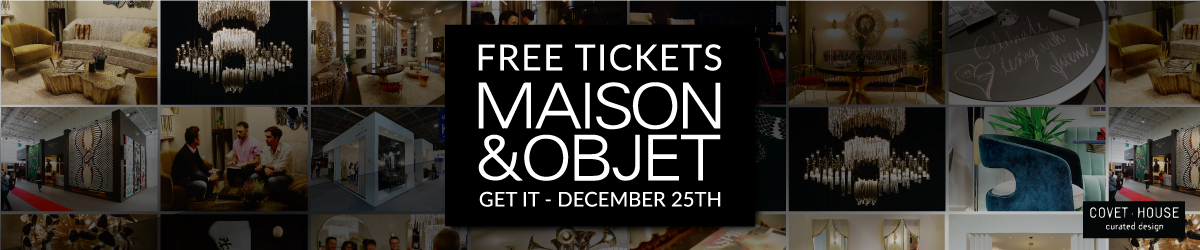 maison et objet 2018 Covet Lounge at Maison et Objet 2018 For The Best Design Projects Banner Free Tickets 1