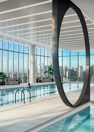 Discover the 50 Best Residential Buildings in New York - Part 1. To see more news about incredible amenities, subscribe our newsletter right now! #bestresidentialbuildings #bestresidentialbuildingsinnewyork #newyorkliving #luxurybuilding #luxuryamenities #stateoftheartamenities #coveted
