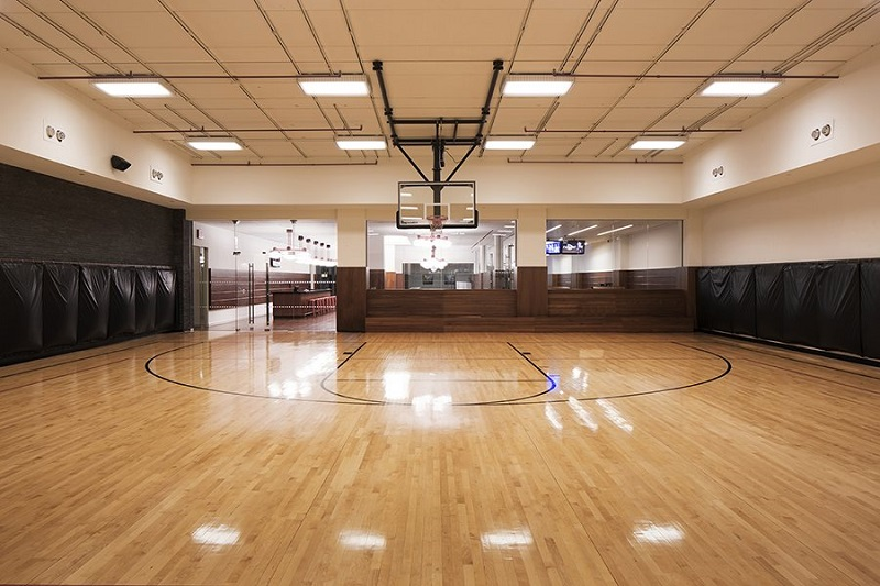 Discover the 50 best residential buildings in new york for Price of indoor basketball court