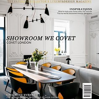 6 Inspiring Articles Published On CovetED Magazine ➤ To see more news about Luxury Design visit us at https://covetedition.com/ #interiordesign #luxurybrand #maisonetobjet2018 @BathroomsLuxury @bocadolobo @delightfulll @brabbu @essentialhomeeu @circudesign @mvalentinabath @luxxu @covethouse_