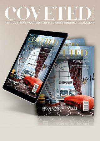 CovetED, An Open Window To An Endless World Of Exclusive Design Ideas ➤ To see more news about Luxury Design visit us at http://covetedition.com/ #interiordesign #luxurybrand #maisonetobjet2018 @BathroomsLuxury @bocadolobo @delightfulll @brabbu @essentialhomeeu @circudesign @mvalentinabath @luxxu @covethouse_