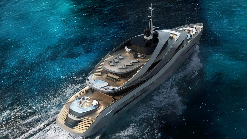 Be Stunned by the Most Alluring Luxury Superyachts Launched in 2017 2