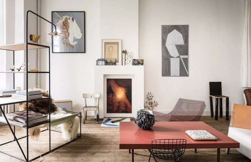 Muller Van Severen and Airbnb Install a Living Room at Design Miami/. To see more news about design events, subscribe our newsletter right now! #designmiami #airbnb #mullervanseveren #fienmuller #hannesvanseveren #designevents #homedecoration #livingroomdecor #topdesigners #luxuryrental