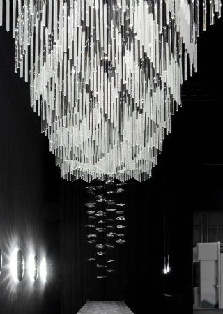 The Bohemian Crystals of Preciosa Lighting Shined at Maison et Objet