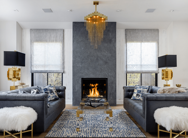 Be inspired by 10 Cozy Interior Design Ideas With Fireplaces ➤ #covetedmagazine #interiordesign #homedecor #luxuryinteriors ➤ www.covetedition.com ➤ @covetedmagazine @bocadolobo @delightfulll @brabbu @essentialhomeeu @circudesign @mvalentinabath @luxxu @covethouse_ @rug_society @pullcast_jewelryhardware @byfoogo