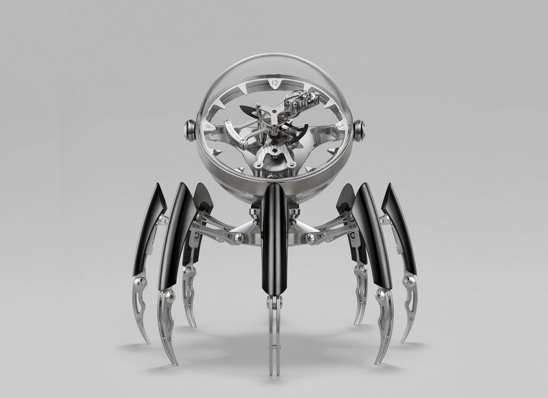Limited Edition Table Clock by MB&F octopod The Wow Effect: Limited Edition Octopod Table Clock by MB&F Luxury Design Meet the Limited Edition Octopod Table Clock by MBF 1