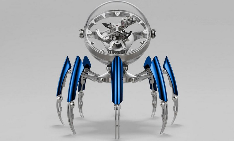 Limited Edition Octopod Table Clock by MB&F octopod The Wow Effect: Limited Edition Octopod Table Clock by MB&F Luxury Design Meet the Limited Edition Octopod Table Clock by MBF 2