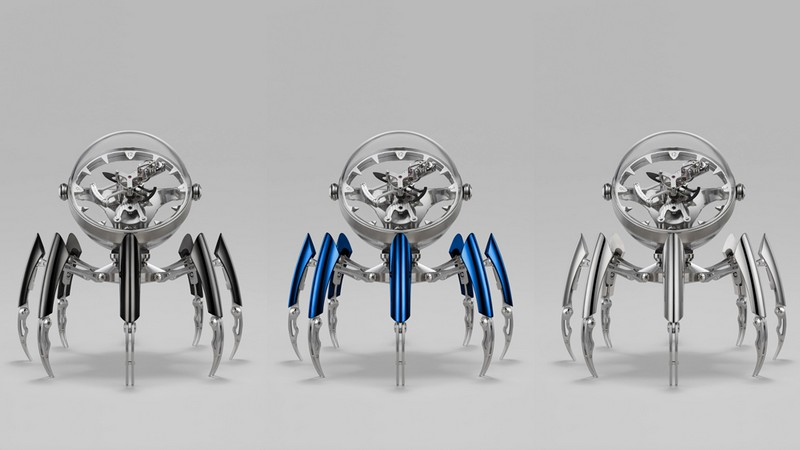 Limited Edition Table Clock by MB&F octopod The Wow Effect: Limited Edition Octopod Table Clock by MB&F Luxury Design Meet the Limited Edition Octopod Table Clock by MBF 3
