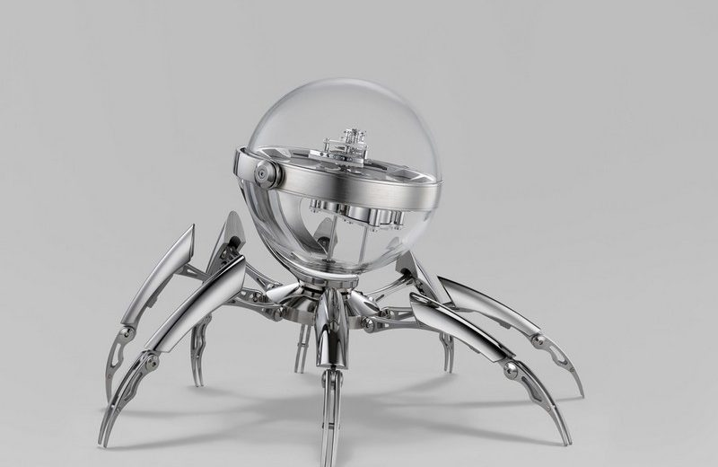Limited Edition Table Clock by MB&F octopod The Wow Effect: Limited Edition Octopod Table Clock by MB&F Luxury Design Meet the Limited Edition Octopod Table Clock by MBF 4 800x520