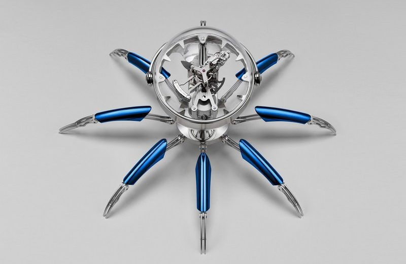Limited Edition Table Clock by MB&F octopod The Wow Effect: Limited Edition Octopod Table Clock by MB&F Luxury Design Meet the Limited Edition Octopod Table Clock by MBF 5 800x520
