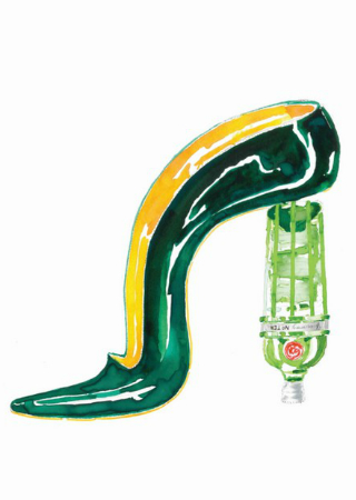 Manolo Blahnik Designs Exclusive Glass for Tanqueray No. Ten
