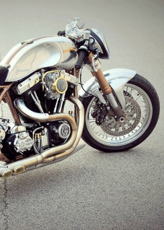 Ride the Powerful Custom Harley-Davidson Hurakàn