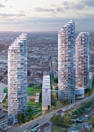The New Stunning Residential Project of Herzog & de Meuron For Basel