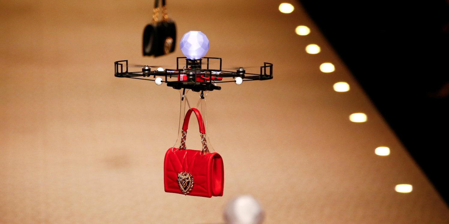 Fashion meets Technology at Dolce & Gabbana Fashion Show