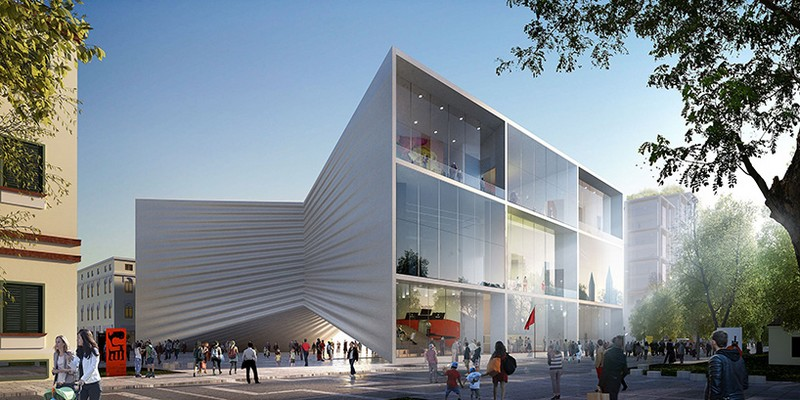 Albania's New National Theatre Will Be Designed by Bjarke Ingels Group 1 bjarke ingels group Albania's New National Theatre Will Be Designed by Bjarke Ingels Group Albanias New National Theatre Will Be Designed by Bjarke Ingels Group 1