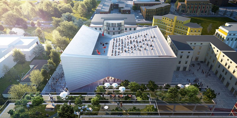 Albania's New National Theatre Will Be Designed by Bjarke Ingels Group 2 bjarke ingels group Albania's New National Theatre Will Be Designed by Bjarke Ingels Group Albanias New National Theatre Will Be Designed by Bjarke Ingels Group 2