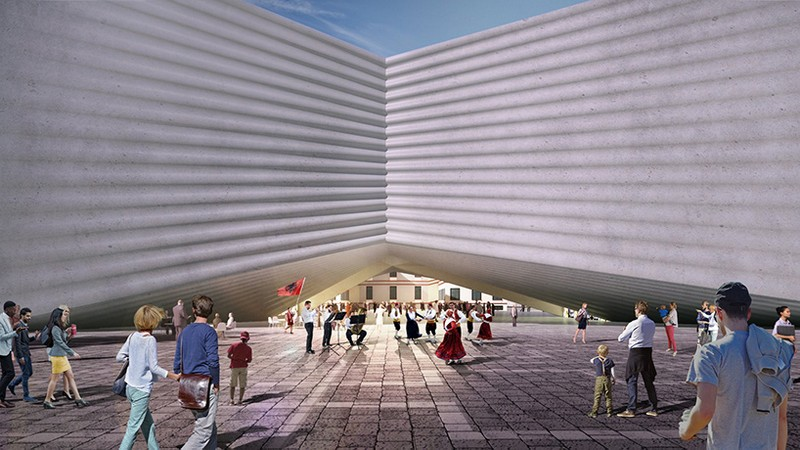 Albania's New National Theatre Will Be Designed by Bjarke Ingels Group 3 bjarke ingels group Albania's New National Theatre Will Be Designed by Bjarke Ingels Group Albanias New National Theatre Will Be Designed by Bjarke Ingels Group 3