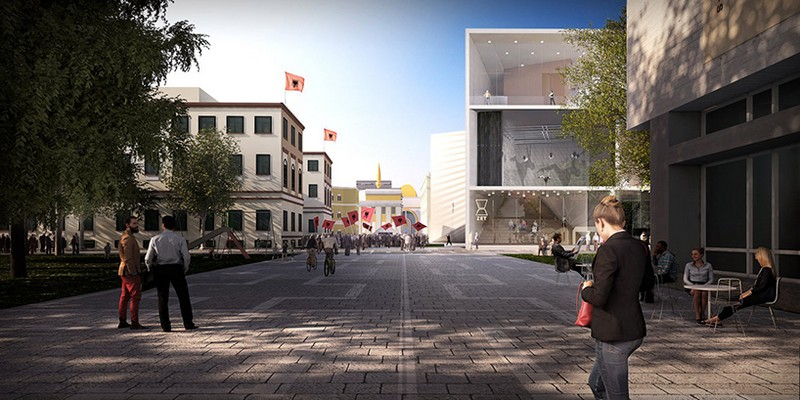 Albania's New National Theatre Will Be Designed by Bjarke Ingels Group 7 bjarke ingels group Albania's New National Theatre Will Be Designed by Bjarke Ingels Group Albanias New National Theatre Will Be Designed by Bjarke Ingels Group 7