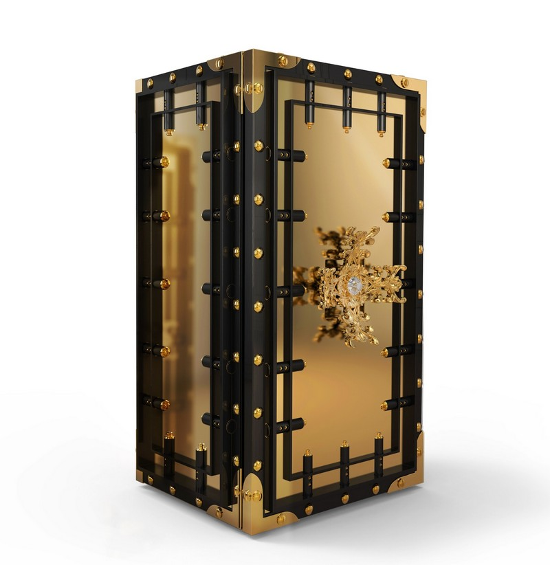 Be Stunned by the Exclusivity of Boca do Lobo's Knox Luxury Safes 1 luxury safes Be Stunned by the Exclusivity of Boca do Lobo's Knox Luxury Safes Be Stunned by the Exclusivity of Boca do Lobos Knox Luxury Safes 1