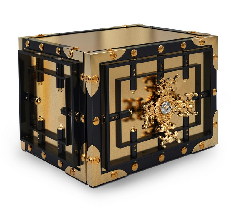 Be Stunned by the Exclusivity of Boca do Lobo's Knox Luxury Safes 5 luxury safes Be Stunned by the Exclusivity of Boca do Lobo's Knox Luxury Safes Be Stunned by the Exclusivity of Boca do Lobos Knox Luxury Safes 5