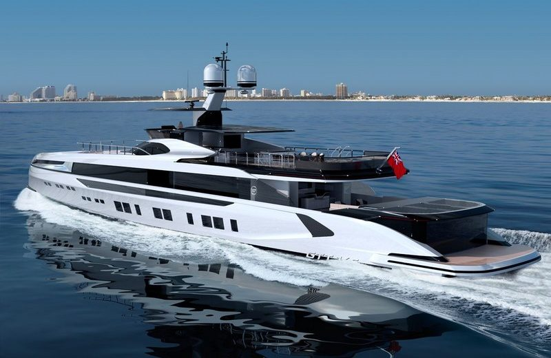 Discover the Very First Foiling Superyacht, Dynamiq's GTT 165 Model 4 dynamiq's gtt 165 Discover the Very First Foiling Superyacht, Dynamiq's GTT 165 Model Discover the Very First Foiling Superyacht Dynamiqs GTT 165 Model 4