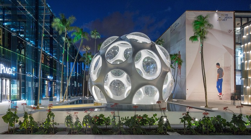 Miami Design District Gets a New High-End Store by Studio Sybarite