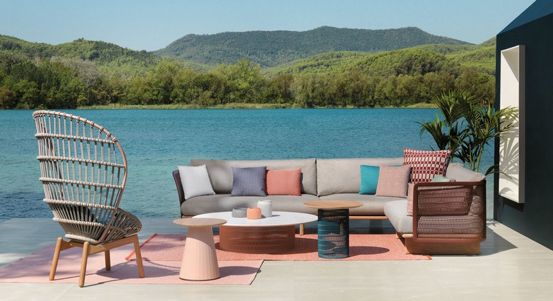 Luxury Outdoor Furniture Shines At
