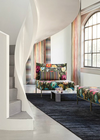 News & Trends Launched By Missoni Home During Salone del Mobile 2018