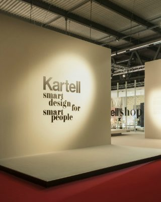 Kartell's Smart Design for Smart People at Salone del Mobile 2018