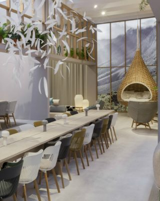 Dedon Gives You the Home Feeling In the Wild at Salone del Mobile 2018