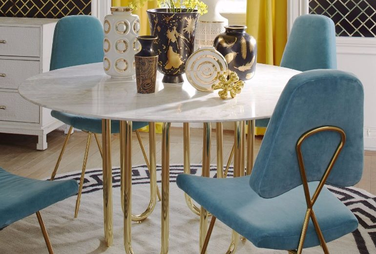 70.000 Mid-Century Modern Dining Chairs That Will Change Your Life Mid-Century Modern Dining Chairs 70.000 Mid-Century Modern Dining Chairs That Will Change Your Life 10 Velvet Dining Room Chairs That Youll Covet 9