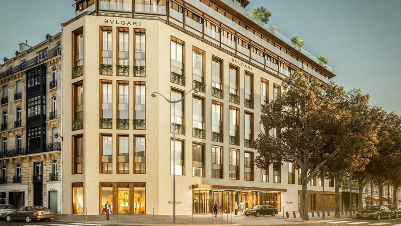 Bulgari Hotels Will Add a New Layer of Glamour to Paris in 2020