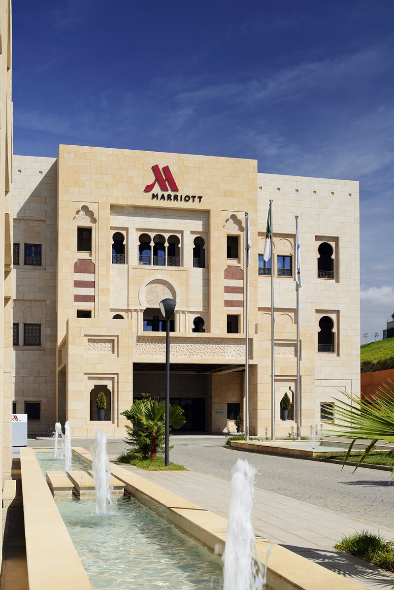 The 5* Marriott Constantine Is a Celebration of Moorish Architecture marriott constantine The 5* Marriott Constantine Is a Celebration of Moorish Architecture Experience the Modern Style of the Marriott Constantine in Algeria 1