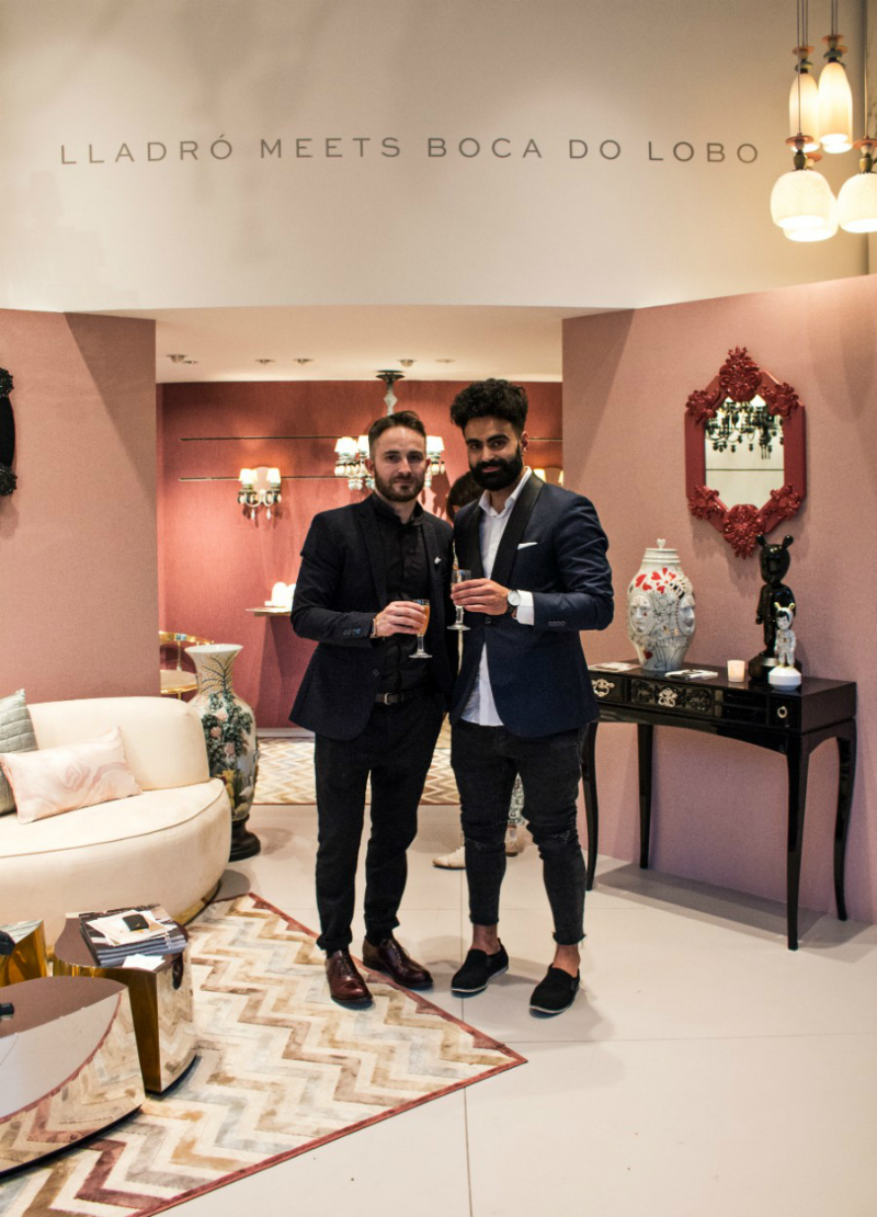 exclusive furniture Lladró Meets Boca do Lobo: A tale of Porcelain and Exclusive Furniture Lladr Meets Boca do Lobo a tale about High Porcelain and Exclusive Furniture 7