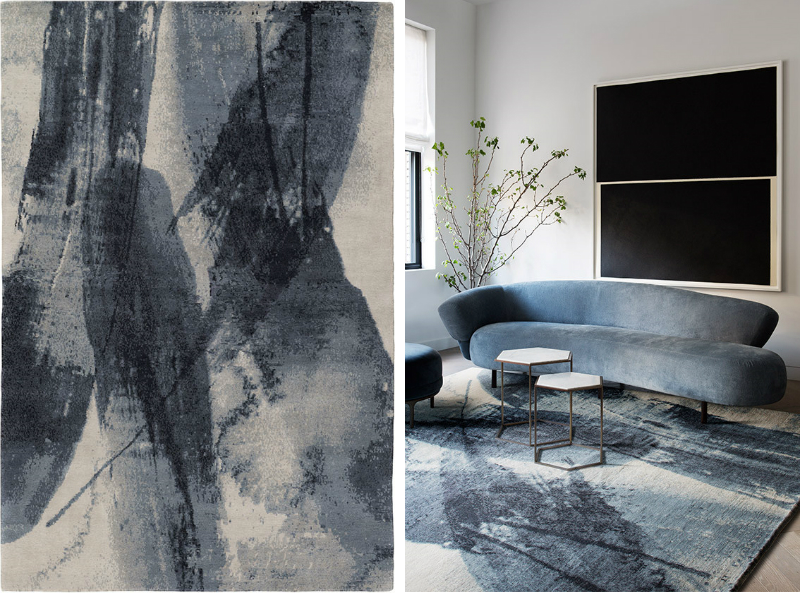 david rockwell David Rockwell Designs Dazzling New Products for the Rug Company Lola rug