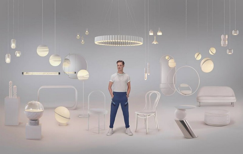 See Lee Broom's Meticulous Lens Fair Lighting Piece at NYCxDesign 2018 1 Mid-century modern living room Take Notes from 20 Inspirational Mid-Century Modern Living Rooms See Lee Brooms Meticulous Lens Fair Lighting Piece at NYCxDesign 2018 1