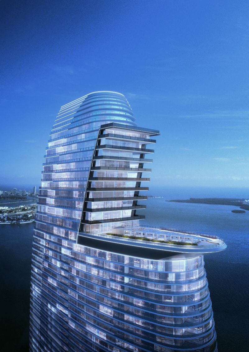 The Towering Aston Martin Residences in Miami Set to Be Built by 2021-2 aston martin residences The Towering Aston Martin Residences in Miami Set to Be Built by 2021 The Towering Aston Martin Residences in Miami Set to Be Built by 2021 2