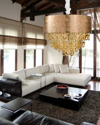 Anelli Hanging Lamp: a Synonym of Elegance and Mastery by Eurolampart