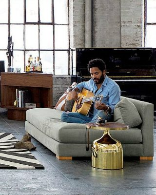 Lenny Kravitz joined interior design to his curriculum with 75 Kenmare