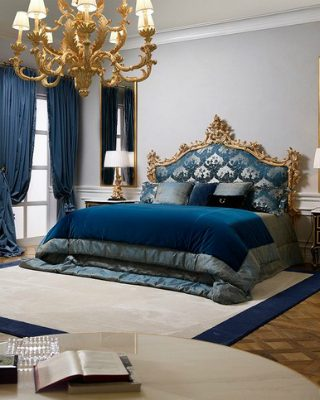 See the New King Palace Master Bedroom by Roberto Giovannini