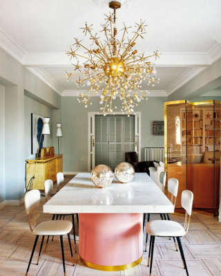 Get Inspired with These 35 Luxury Mid-Century Modern Dining Room Ideas 35