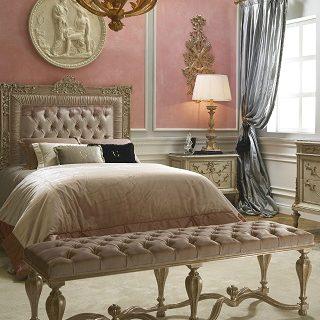 Bedroom Design Ideas: The Queen Soleil bedroom by Roberto Giovannini ➤ #covetedmagazine #luxurymagazine #luxuryliving #interiordesign #homedecor #milandesignweek2019 #salonedelmobile2019 #isaloni2019 #maisonetobjet ➤ www.covetedition.com ➤ @covetedmagazine @bocadolobo @delightfulll @brabbu @essentialhomeeu @circudesign @mvalentinabath @luxxu @covethouse_ @rug_society @pullcast_jewelryhardware @bybrabbucontract