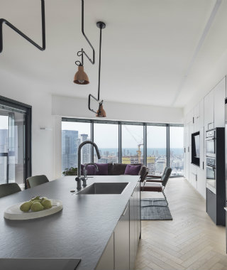 The Amazing Skyline Loft Project of Henkin Shavit Studios
