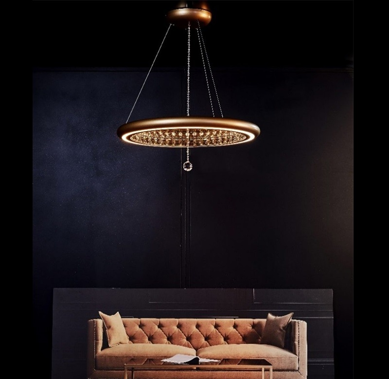 Swarovski Lighting Reveals Luxury New Infinite Aura Collection ➤ #covetedmagazine #luxurymagazine #luxuryliving #interiordesign #homedecor #milandesignweek2019 #salonedelmobile2019 #isaloni2019 #maisonetobjet ➤ www.covetedition.com ➤ @covetedmagazine @bocadolobo @delightfulll @brabbu @essentialhomeeu @circudesign @mvalentinabath @luxxu @covethouse_ @rug_society @pullcast_jewelryhardware @bybrabbucontract